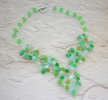 Spring Branches Necklace by Lady-Blue