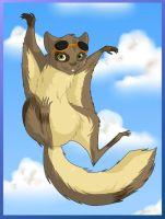 Flits the flying squirrel by Tinegrey