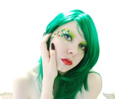 . xmas green hand . by Grotesque-Stock