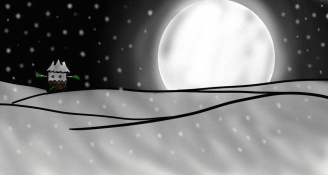 MamoswineDraws Commission: Route 216's Silver Snow by Pokemon-Ranger-Sumi
