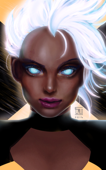 Storm by tau-illustrations
