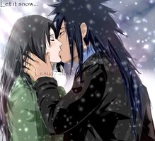 Madara x Haruko (myOC) - kiss by Lesya7