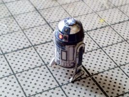 R2-D2 Small Papercraft by Ohnhai