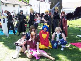 Final Fantasy group pic. by Misty-Mina