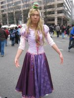 Rapunzel costume finished by AllenGale