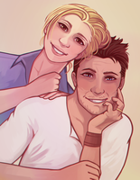 Nate and Elena Commission by missxdelaney