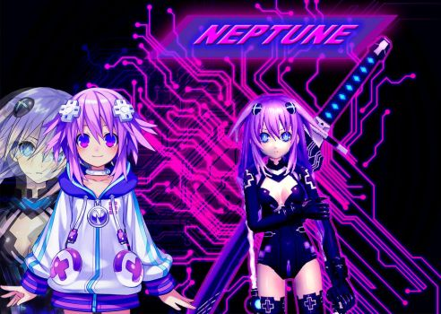 Neptune. by Twisted-Vocaloid