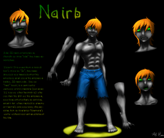 Ref Sheet- Nairb by MindOfGenius