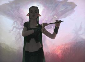 Elvish Piper Repaint by CraigSoulsby