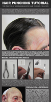 Hair Punching tutorial by EvanCampbell