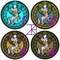 Stained Glass: Zecora: WIP's by Akili-Amethyst