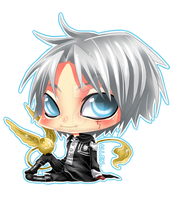 CHIBI - DGM Allen Walker by Razon-Fan