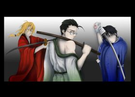 Samurai FMA by ChildOfPuck