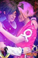 sasusaku cosplay by yvelise