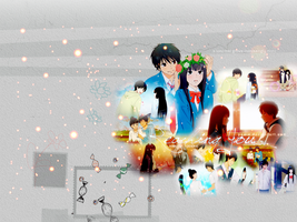 Kimi ni todoke wallpaper by Pau-x