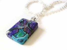 Bulbasaur Pendant Necklace by sobeyondthis