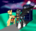 The doctor mlp by RinRose7