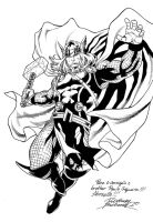 Thor comision by Buchemi