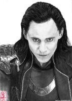 Loki - Tom Hiddleston by ElliCrown