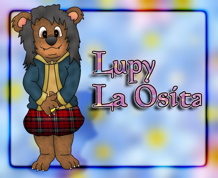 Lupy Bear by NorbertOtter