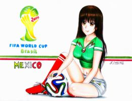 World Cup Girl by joseluis81