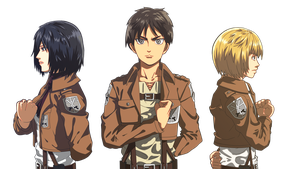 Shingeki no Kyojin 3 by xenocracy