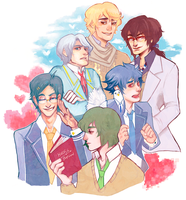 hatoful boyfrandz by riasaur