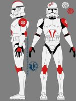 Clone Troopers of the Sixth Systems Army [Phase 2] by ozai37