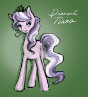 Diamond Tiara by ClockworkNightmare