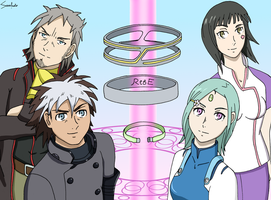 Eureka Seven : Astral Ocean -Renton and Eureka- by SacrificatoEureka