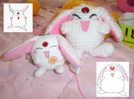 Mokona and chibi model by sophisticada