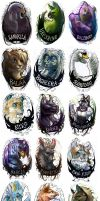 Bunch O' Badges by maggock