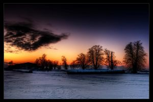 winter evening II by stg123