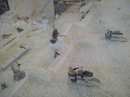 Star Wars Exhibition - Hoth's battle 2 by Garci-The-Raccoon