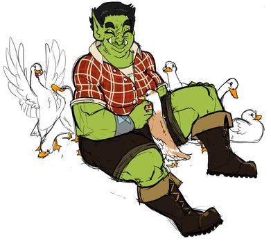 More Killian with Ducks by PudgeHen