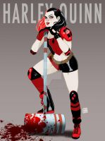 Harley Quinn by HectorBarrientos