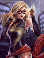 Ms.Marvel - PSD file + Full size on my Patreon by RinRinDaishi