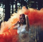 red smoke by SolMay