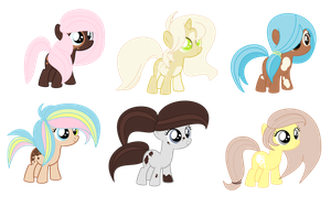 Spotted filly adopts CLOSED by SugarMoonPonyArtist