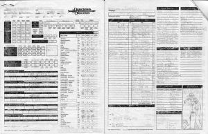 Ignus Character Sheet by Bahamut20