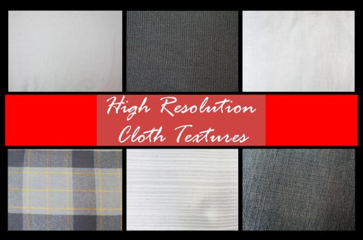 Hi Res Cloth Texture Pack by shhhhh-art-Stock