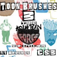 Toon Brushes 3 ATHF Edition by muutus