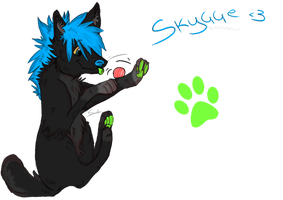 Skygge by Squishy-Pirate-Mutt