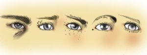 Writers and their eyes by SolaValko