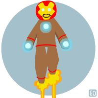 December 19th, Iron Man by EO88