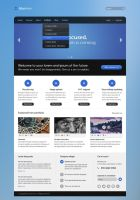 Blurview - PSD Template by ivelt