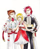 Symphonia fancy clothes trio by Quatrina