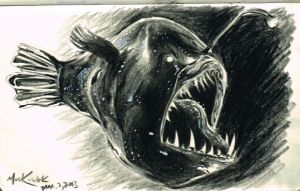 Angler Fish sketch by NickMockoviak