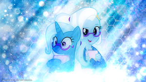 Bookworm Trixie - Wallpaper by AntylaVX