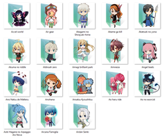 Anime folder icon pack (A) by ColourfulKiwi